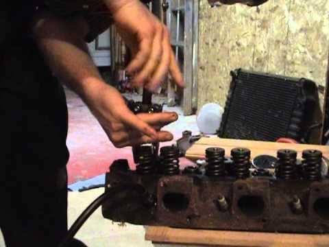 How to replace valve seals on your engine - YouTube