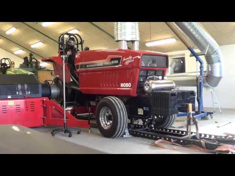 Tractorpulling Dyno test Hobo 2015