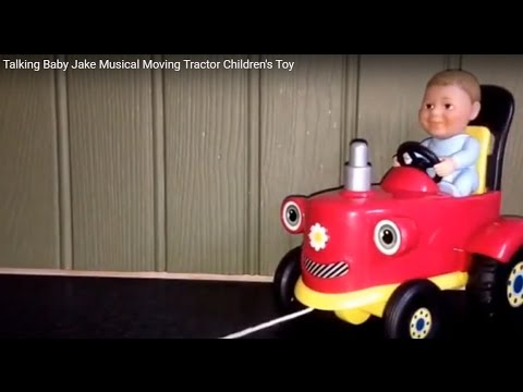Talking Baby Jake Musical Moving Tractor Children's Toy
