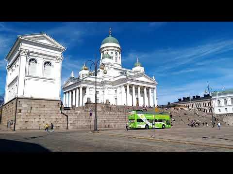 Visiting Helsinki in May 2018
