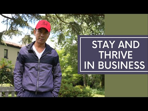 Stay And Thrive In Business