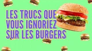 Top 10 des trucs que vous ne saviez pas sur les burgers