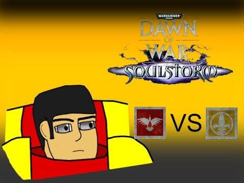 Dawn of War: Soulstorm - Persuading the Zealots (Space Marines vs. Sisters of Battle)