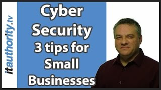 Security tips for small businesses - tips from the CompTIA conference in Cardiff