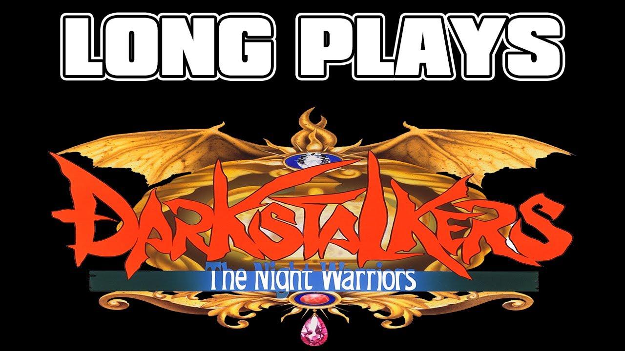 Darkstalkers: The Night Warriors (Arcade version) - Até o fim - Long plays LIVE #03
