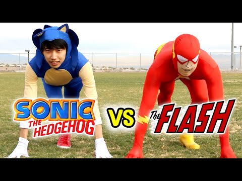 Sonic The Hedgehog Vs The Flash - PART 1 - With Lethal Soul