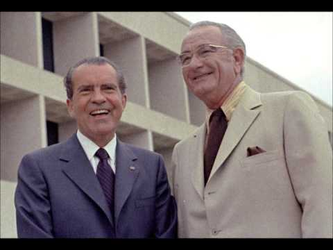 Nixon, LBJ Discuss Vietnan, Truman Memorial, LBJ's Heart Pains