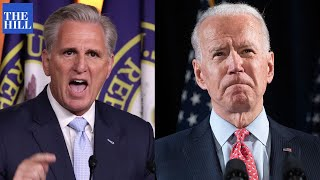 Joe Biden has FROSTY relationship with Kevin Mccarthy