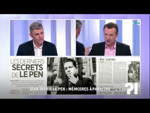 Jean-Marie Le Pen : Mémoires à paraître #cadire 21.02.2018