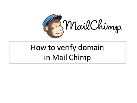 How to Verify Domain in Mail chimp - Email Marketing series
