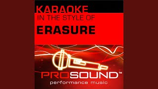A Little Respect (Karaoke With Background Vocals) (In the style of Erasure)