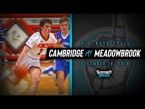 HS Basketball | Cambridge at Meadowbrook [12/18/18]