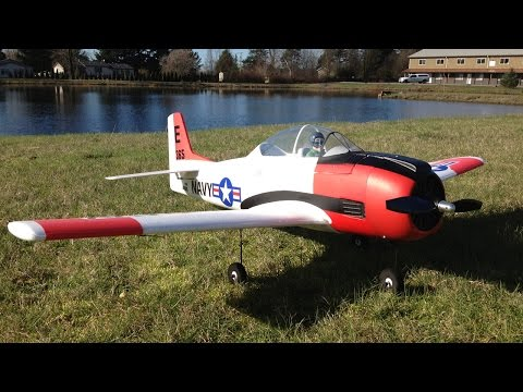 Trojan Mayhem with our Parkzone T-28 Trojan Parkflyers on a Bright and Beautiful Day