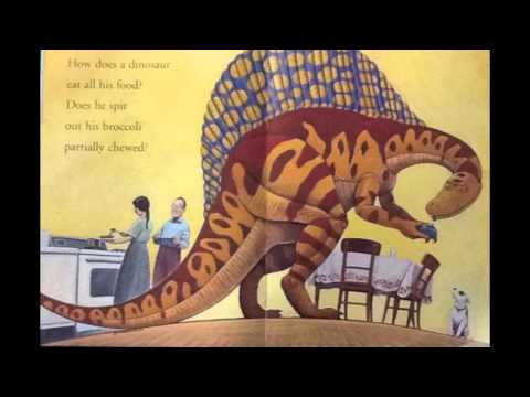 How Do Dinosaurs Eat Their Food. Read by Anthony - YouTube