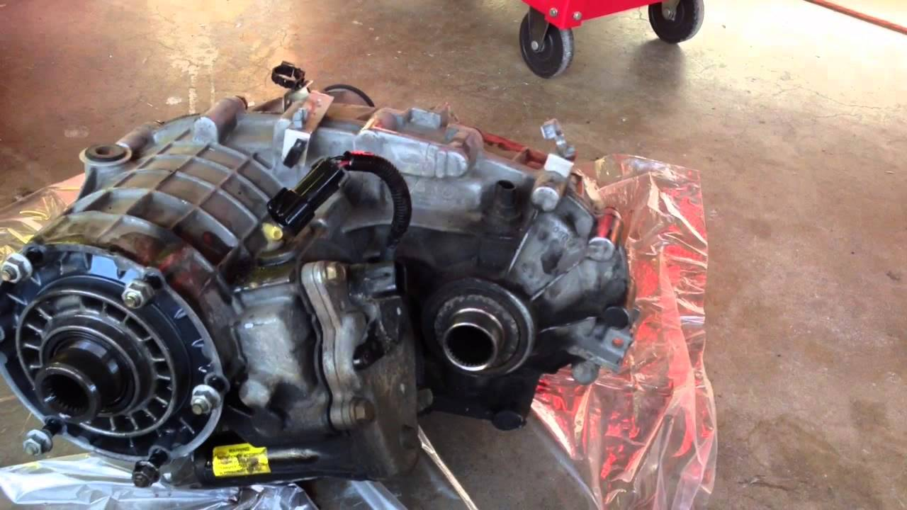 2001 Chevorlet Suburban Transfer Case Removal - YouTube