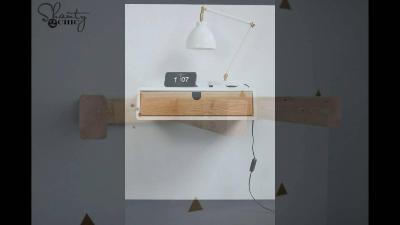 Floating Storage Nightstand