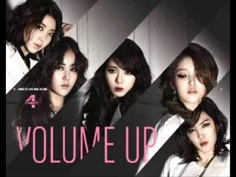 4Minute Volume Up Karaoke/Instrumental with bg vocals
