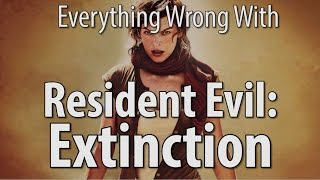 Everything Wrong With Resident Evil  Extinction