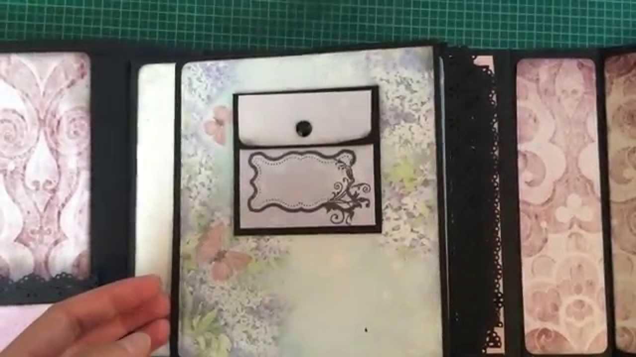 1 scrapbook wenn buch geburtstagsgeschenk youtube. Black Bedroom Furniture Sets. Home Design Ideas