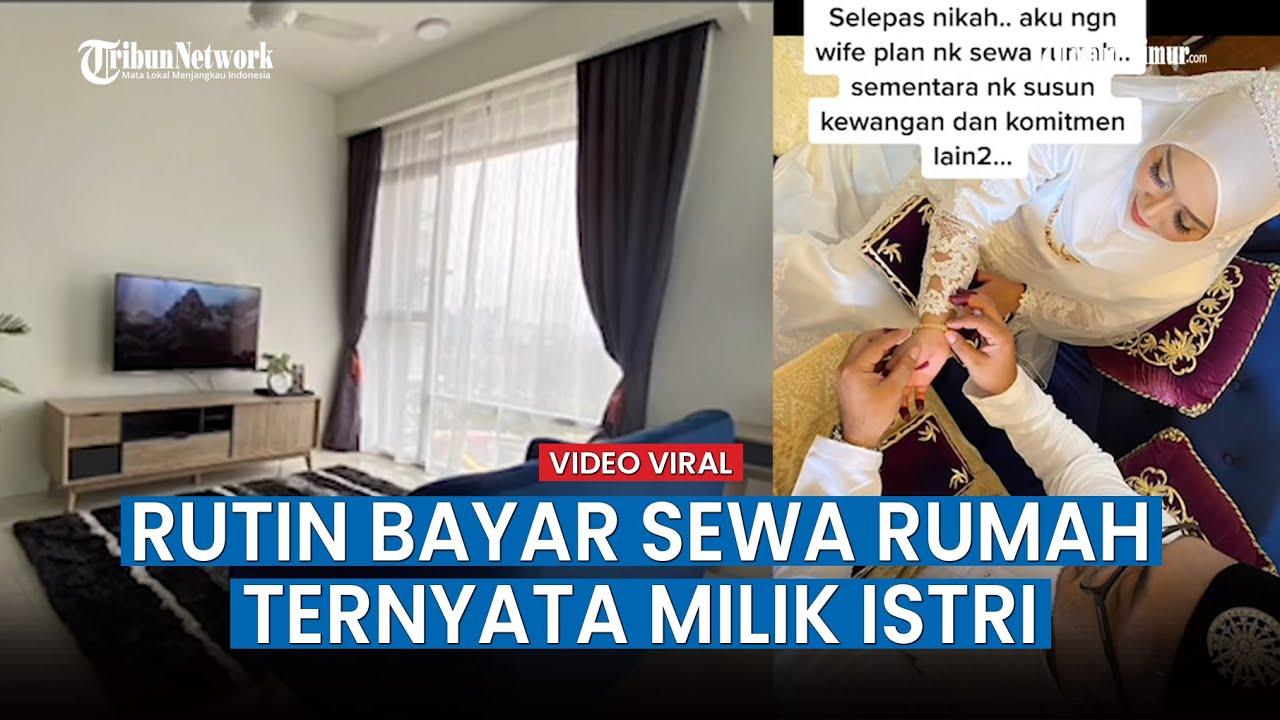 Download Viral Video Pria ini Sewa Rumah Setelah Nikah & Rutin Bayar Tiap Bulan, Ternyata Milik Istrinya