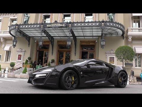 W Motors Lykan Hypersport | Start Ups | Revs | Accelerations | Driving in Monaco