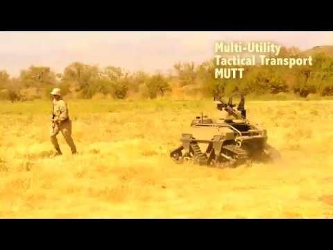 Marines testing robots with machine guns | Marine Corps Warfighting Lab Testing for the Future
