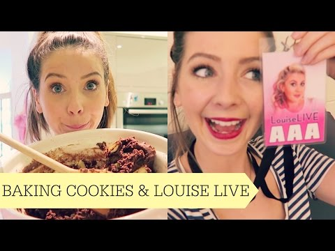 Baking Cookies & Louise Live