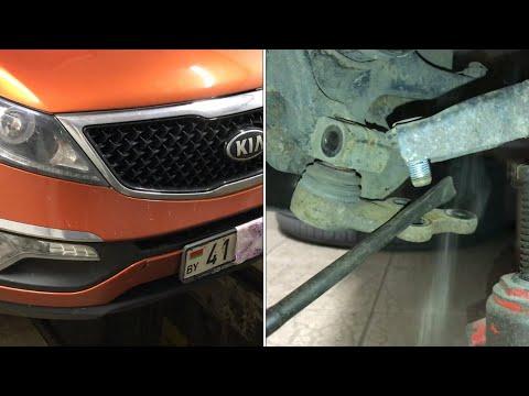 Замена шаровой опоры Kia Sportage 3 Hyundai Ix35 как поменять шаровую опору