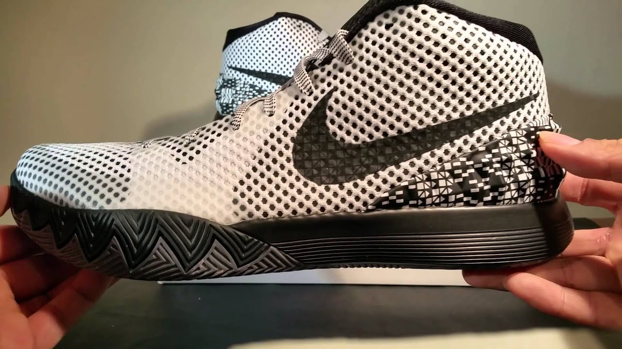 Unboxing Nike Kyrie 1 BHM Black History Month - YouTube