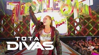 Ronda Rousey Makes Her WWE WrestleMania Debut   Total Divas   E!