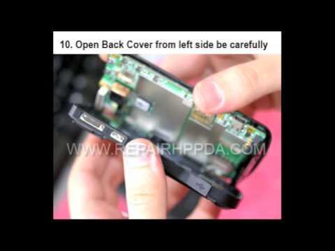 How to repair HP iPAQ 910, 910c, 912, 912c, 914, 914c