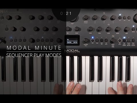Modal Minute #8 – ARGON8/COBALT8 Sequencer Play Modes Explained