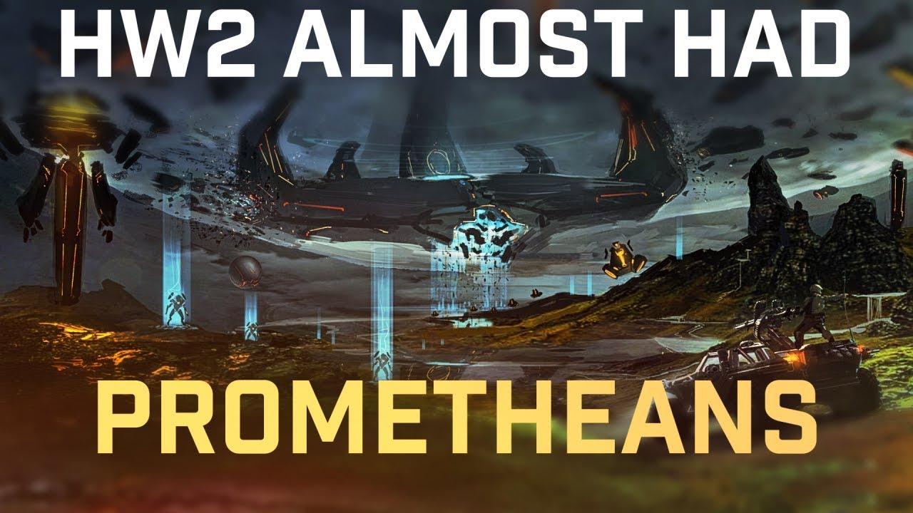 Halo Wars 2 Almost had Promethean factions, potentially even involving the  created!