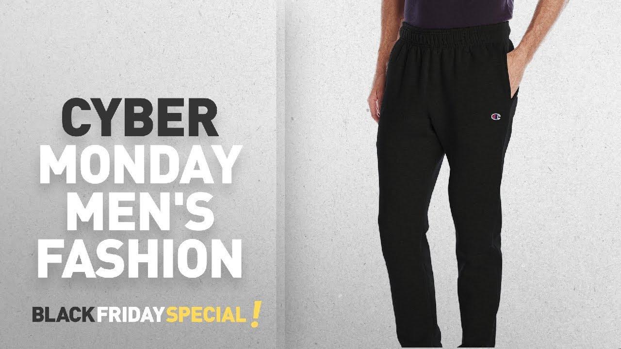 991c32200 Cyber Monday Men's Active Pants Deals: Champion Men's Powerblend ...