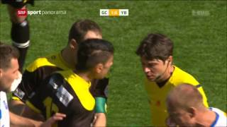 Grasshoppers - Young Boys 5:0  04.05.2014