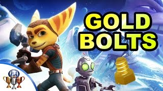 Ratchet & Clank (PS4) All 28 Gold Bolts Locations (Ultimate Explorer Trophy) How to Unlock All Cheat
