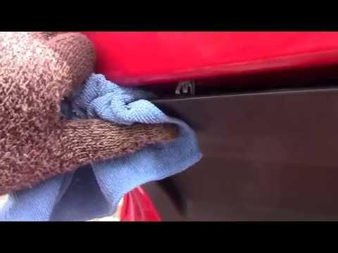 снятие обшивки багажника skoda fabia