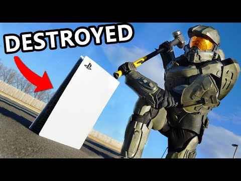 Master Chief DESTROYS New PS5 **Emotional**