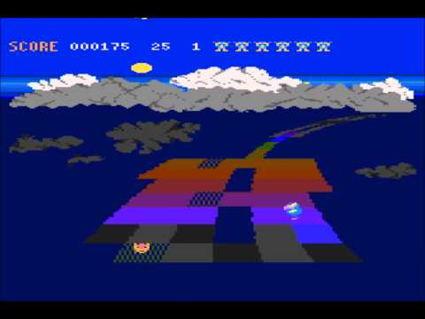 Rainbow Walker for the Atari 8-bit family