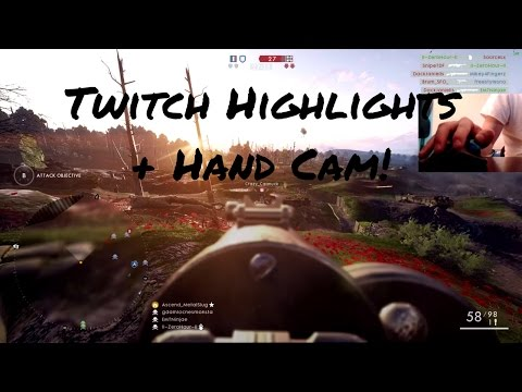 Battlefield 1 | Twitch Highlights #6 | Logitech M570 Trackball