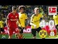 Borussia Dortmund vs. Bayer Leverkusen I 4-0 I Reus, Alcacer and Co. Score in Goal-Fest - Highlights