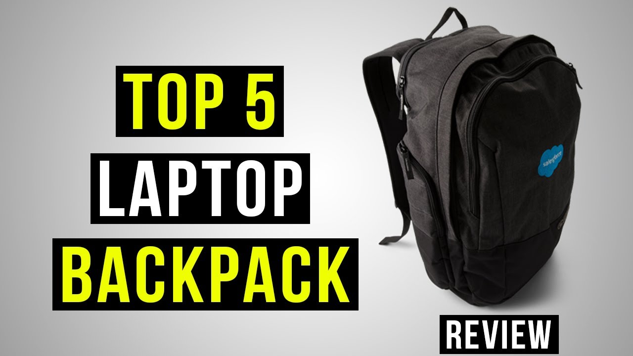 Top 5 Laptop Backpack 2018 - YouTube fa68bdf896229