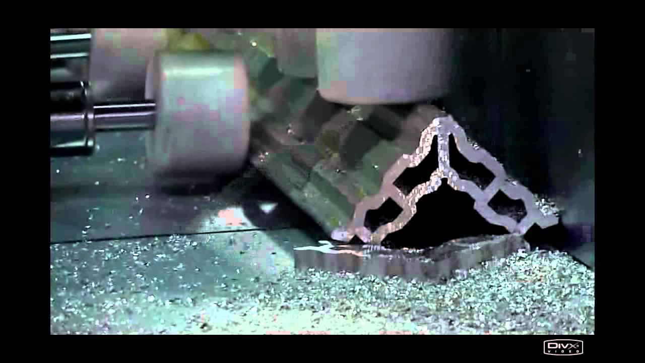 Automatic Aluminium Profile Cutting Machine Youtube