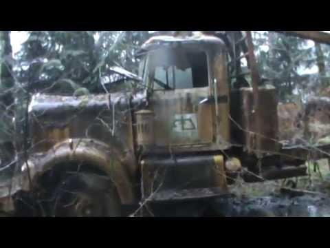 Abandoned Logging Equipment Vancouver Island