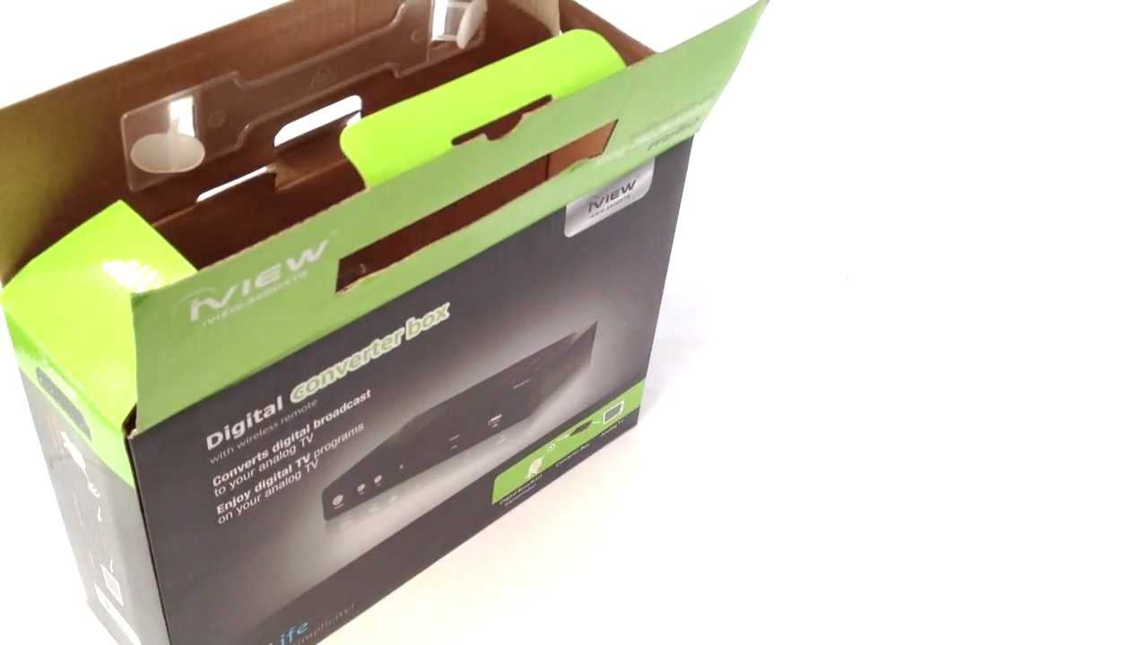 Iview 3500STB Converter Box New