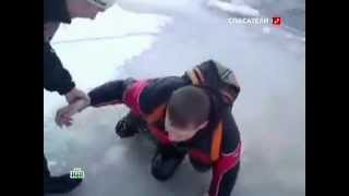 Школьник провалился под лед!