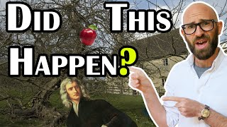 Did Newton Really Have an Apple Fall on His Head Inspiring His Groundbreaking Theory on Gravity?