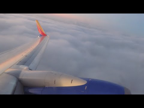 Southwest Airlines Boeing 737-700 [N563WN] beautiful dawn takeoff from LAX
