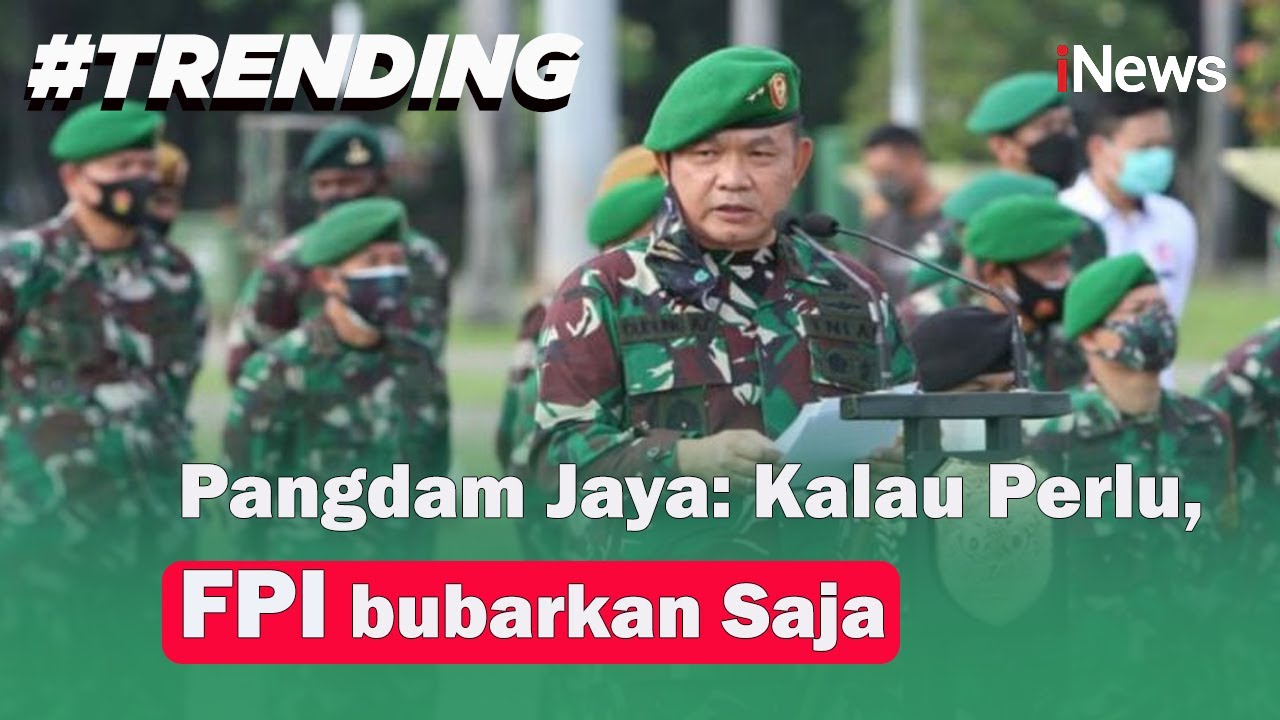 Pangdam Jaya Akui Perintahkan Penurunan Baliho Habib Rizieq Shihab - iNews Sore 20/11