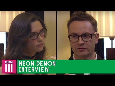 """Do you think you're beautiful?"" - Neon Demon director Nicolas Winding Refn meets model Rosie Nelson"